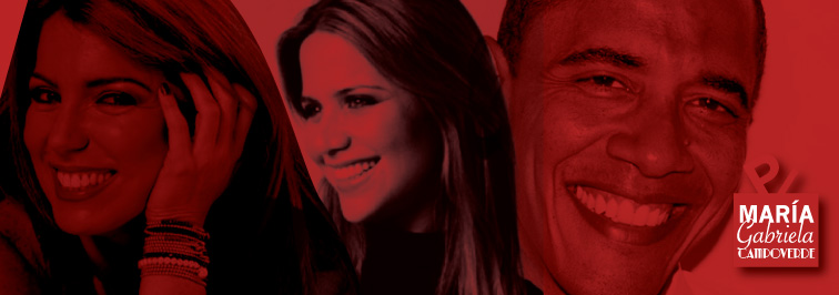 imagen de Ile Miranda, Barack Obama y Mariela Viteri