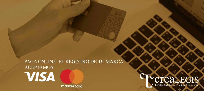 registro de nombre comercial - pago online Crealegis